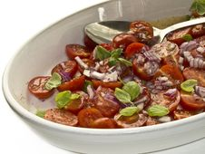 Free Tomato Salad Stock Photo - 4372880