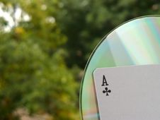 Free Ace CD Stock Photos - 4373133