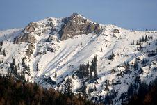 Free Stone And Snow Stock Photos - 4373173