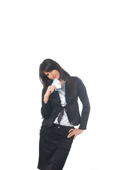 Free Business Woman Stock Photography - 4373462