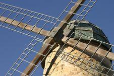 Free Stone Milling Windmill Stock Image - 4373771