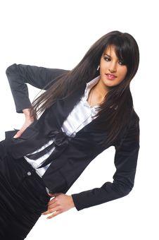 Free Business Woman Stock Image - 4373801