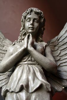 Free Angel Statue 4 Stock Photo - 4374970