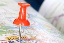 Free Pinning Direction Royalty Free Stock Photo - 4375235