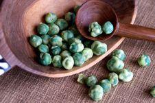 Free Wasabi Peas Royalty Free Stock Image - 4375316