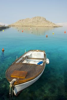 Boat On The Sea. Stock Images