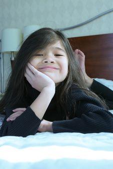 Free Child Thinking Stock Photography - 4376952