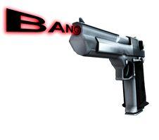Free Gun Bang 1 Stock Image - 4377171