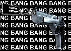 Free Gun Bang 2 Royalty Free Stock Photography - 4377177