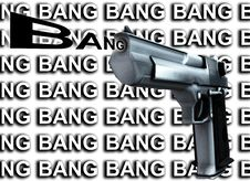 Free Gun Bang 3 Royalty Free Stock Image - 4377186