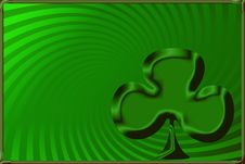 Shamrock Background Stock Images