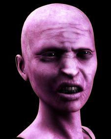 Free Bald Zombie Women Royalty Free Stock Photos - 4377748