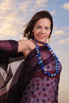 Free Joyful Woman Stock Photo - 4378070
