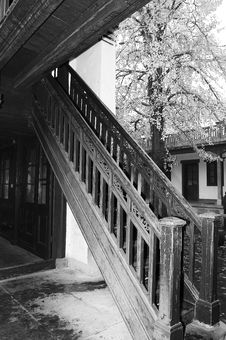 Free Historic Staircase Royalty Free Stock Image - 4378516