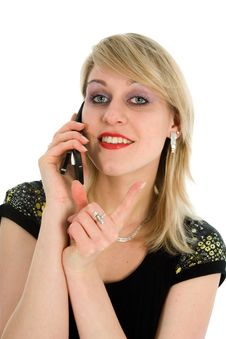 Free Business Woman Calling Stock Photos - 4378623