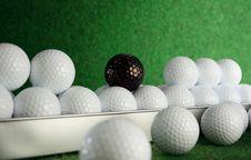 Golfballs Royalty Free Stock Photos
