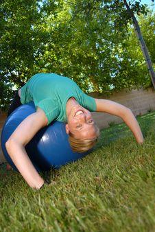 Free Backyard Workout Stock Images - 4378714