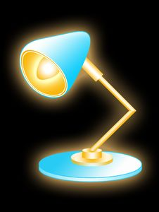 Free Table Lamp Royalty Free Stock Photos - 4379298