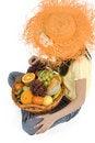 Free Fruit Basket Stock Image - 4380311