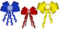 Free Colorful Bow,red Blue And Yellow Stock Images - 4382804