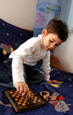 Free Little Boy Playing Chess Royalty Free Stock Photography - 4389767