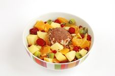 Free Fruit Salad Royalty Free Stock Images - 4380099