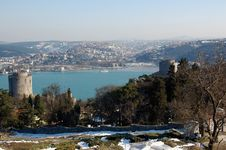 Free Rumeli Fortress Royalty Free Stock Photo - 4380155