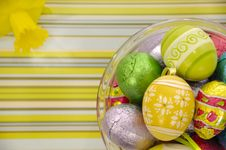 Free Easter Eggs Royalty Free Stock Image - 4380466