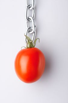Free Imaginations With A Red Tomato Stock Photography - 4380792