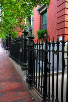 Free Beacon Hill, Boston Royalty Free Stock Images - 4381239