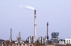 Free Petrochemical Industry. Royalty Free Stock Photos - 4381358