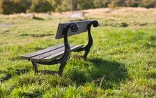 Bench All Alone Royalty Free Stock Images
