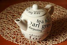 Free White Teapot Royalty Free Stock Photos - 4381488