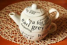 Free White Teapot Royalty Free Stock Images - 4381639
