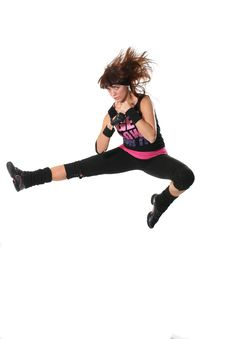 Free Girl Jump Royalty Free Stock Images - 4381749