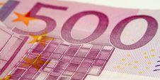 Free 500 Euro Stock Photo - 4381910