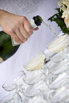 Free Champagne Toast - Wedding Royalty Free Stock Image - 4382166