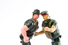 Free Soldier Toy Royalty Free Stock Photo - 4382395