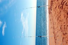 Free Surf Fishing Poles Royalty Free Stock Photos - 4382448