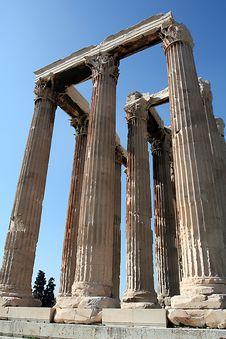 Free Corinthian Columns Stock Photography - 4382522