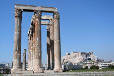 Free Corinthian Columns Stock Image - 4382721