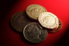 Free British Coins Royalty Free Stock Images - 4383599