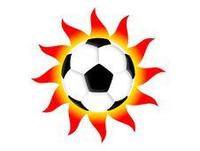 Free Football Sun Stock Photo - 4384190