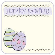 Free Easter Greeting Card Royalty Free Stock Images - 4384509