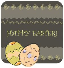 Free Easter Greeting Card Stock Photos - 4384623
