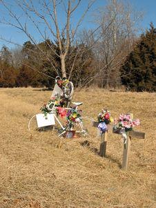 Free Bicycle Memorial Stock Photo - 4385480
