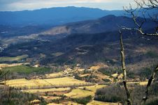 Free The Valley Below Royalty Free Stock Image - 4385796