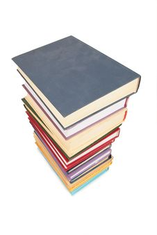 Free Big Stack Of Books 3 Royalty Free Stock Photo - 4386105
