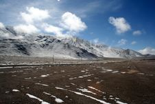 Free Road Of Highland  Pamirs Royalty Free Stock Photography - 4386207