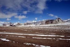 Free Wild Scene Of Highland Moutain Pamirs Tibet Royalty Free Stock Images - 4386339